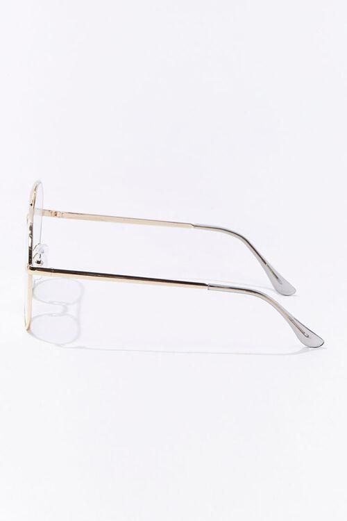 Round Metal Reader Glasses, image 2