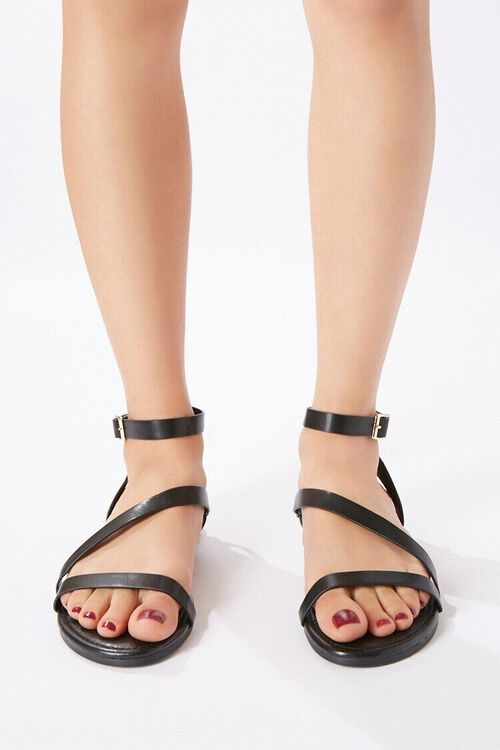 Caged Flat Sandals, image 2