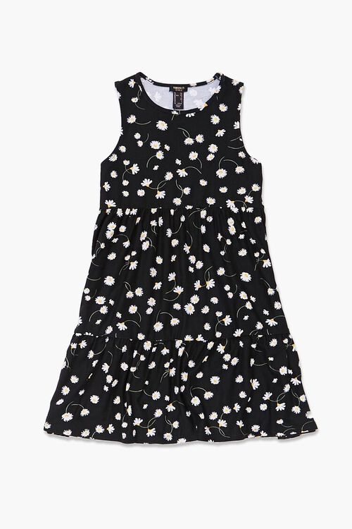 Girls Floral Sleeveless Dress (Kids), image 1