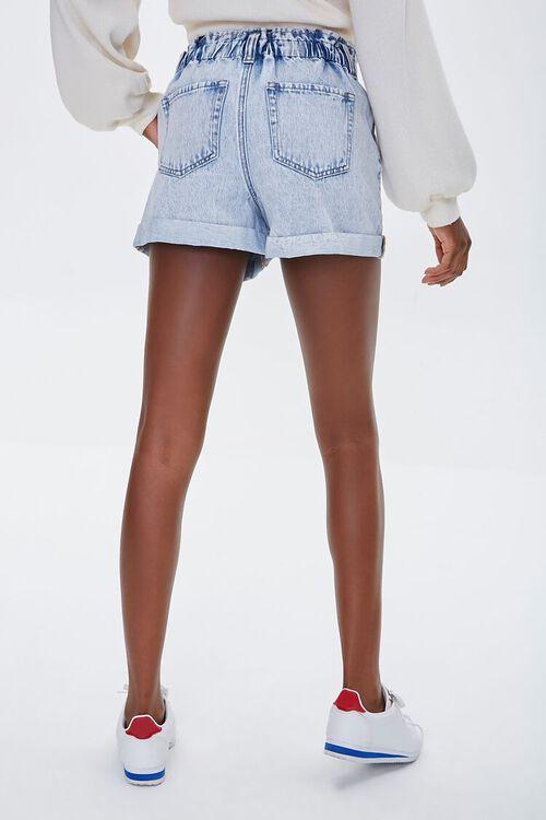 ACID DENIM Denim Paperbag Shorts, image 4
