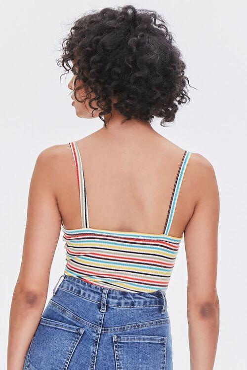 Striped Cami Bodysuit, image 3