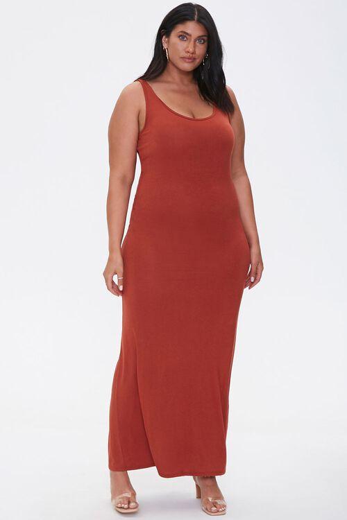 Plus Size Tank Maxi Dress, image 4
