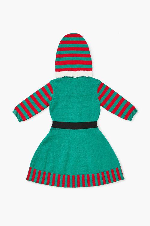 Girls Elf Sweater Dress (Kids), image 2