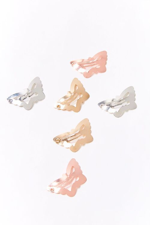 Butterfly Hair Snap Clip Set, image 1