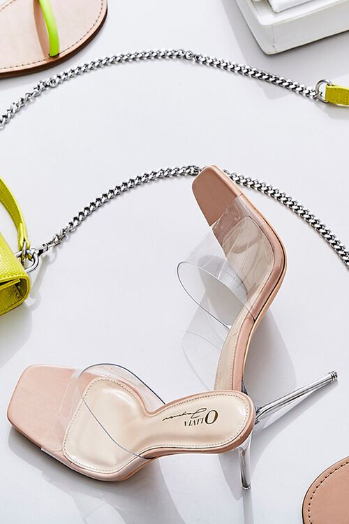 Translucent Lucite Stiletto Heels, image 1