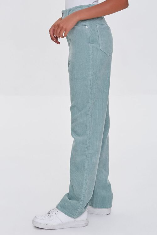 SAGE Ribbed Relaxed Pants, image 3