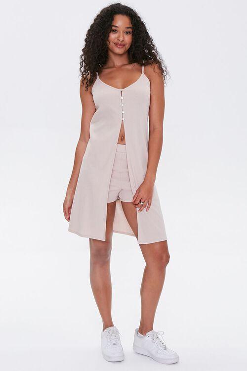 Split-Front Cami Tunic & Shorts Set, image 4