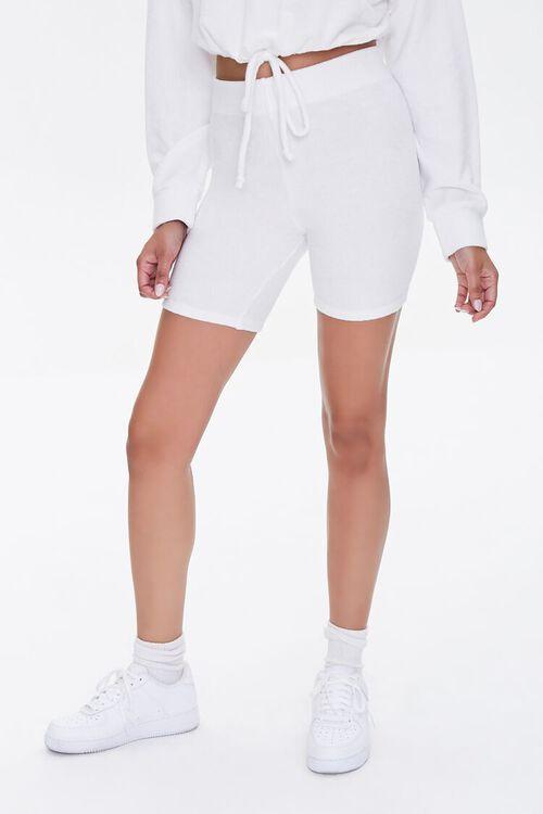 Mineral Wash Biker Shorts, image 2