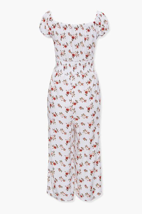Floral Print Culotte Jumpsuit, image 2