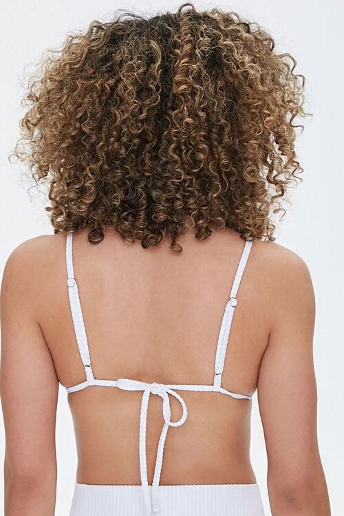 Ribbed Triangle Bikini Top, image 3