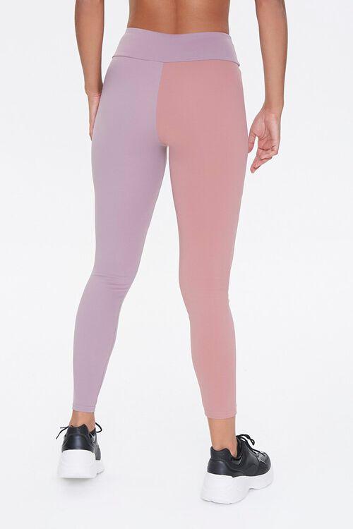 ROSE/LAVENDER Active Colorblock Leggings, image 4