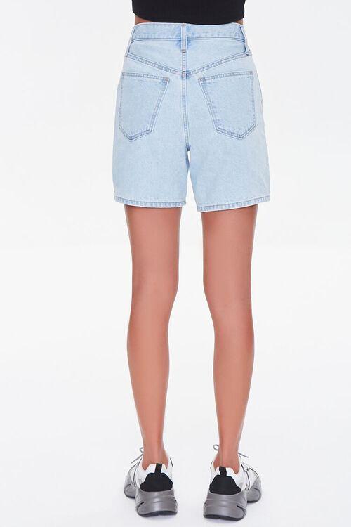 Crisscross Denim Shorts, image 4