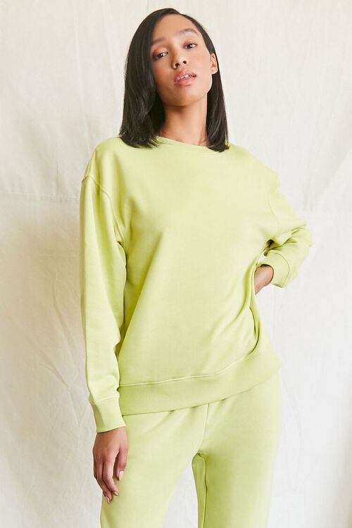 SAGE French Terry Crew Pullover, image 5