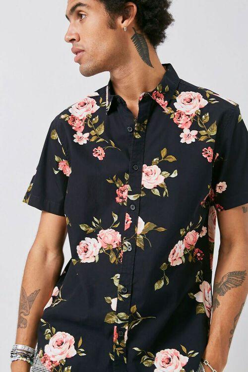 Classic Fit Floral Print Shirt, image 1