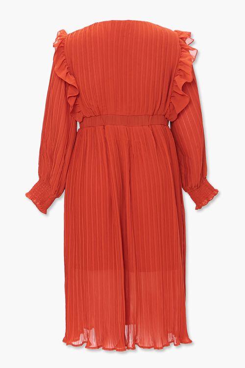 Plus Size Accordion-Pleated Dress, image 3