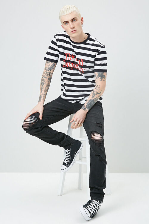 Striped Print Tee, image 4