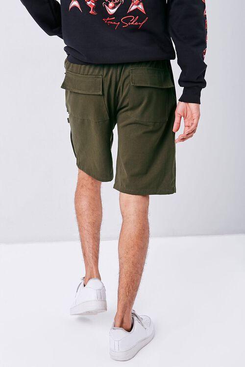 Drawstring Dual Cargo Shorts, image 4