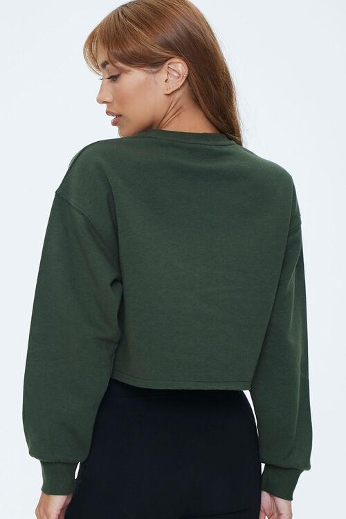 Fleece Drop-Sleeve Sweatshirt, image 3