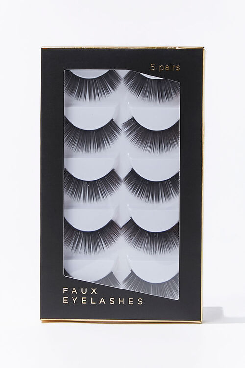 Dramatic Faux Lashes - 5 pack, image 1