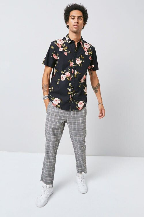 Classic Fit Floral Print Shirt, image 4