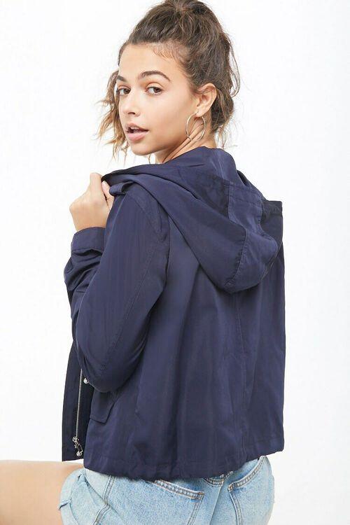 Zip Front Hooded Jacket, image 3