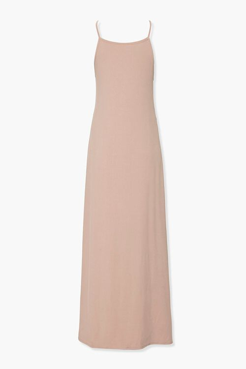 Ribbed Knit Maxi Cami Dress, image 3
