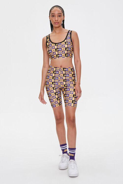Los Angeles Lakers Biker Shorts, image 5