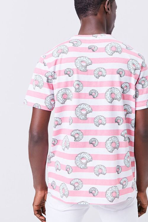 Donut Print Striped Shirt, image 3