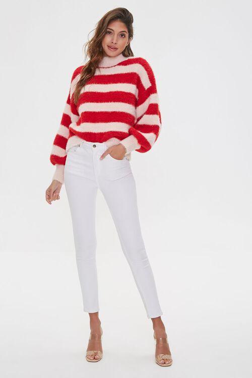 Fuzzy Turtleneck Sweater, image 4