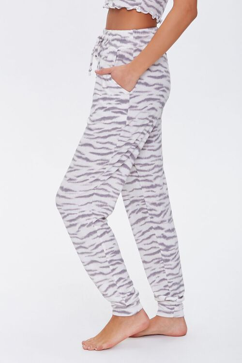 Tiger Print Lounge Pants, image 3