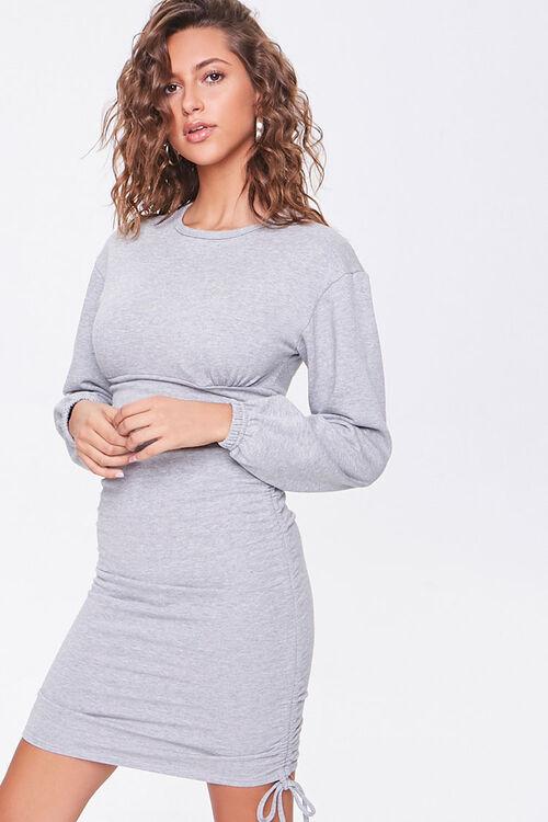 Ruched Mini Dress, image 1