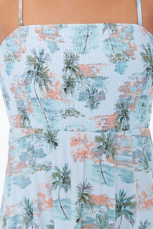 Beach Print Mini Dress, image 5