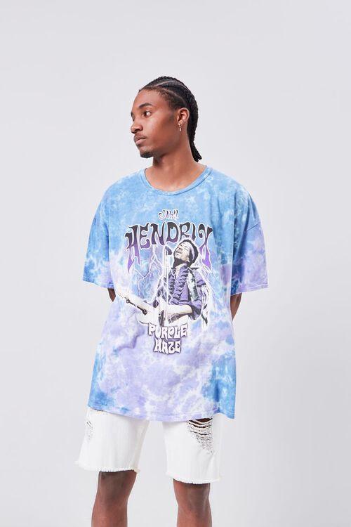 Jimi Hendrix Tie-Dye Graphic Tee, image 6