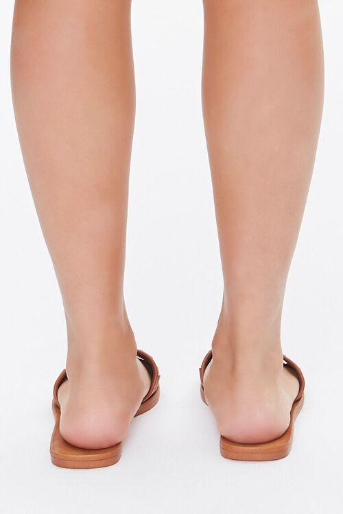 Basketwoven Slip-On Flat Sandals, image 3