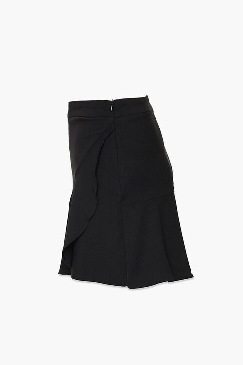 Flounce-Hem Mini Skirt, image 2