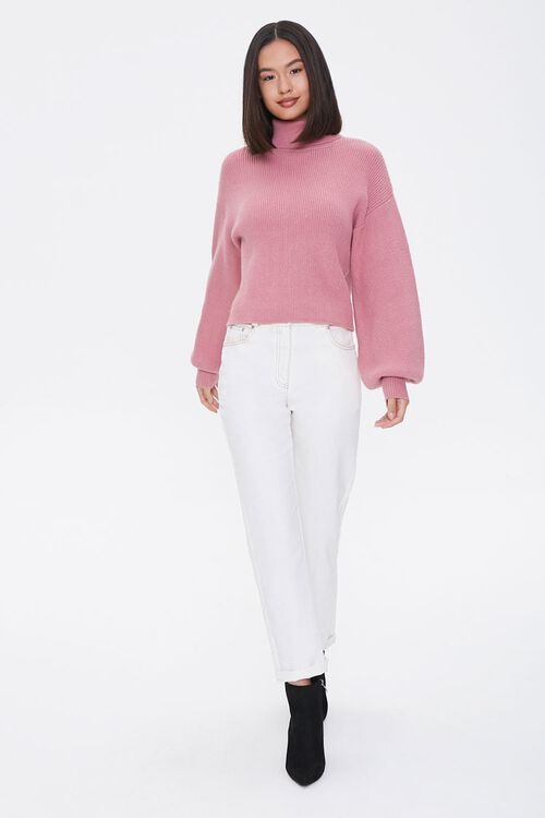 Ribbed Turtleneck Sweater, image 5