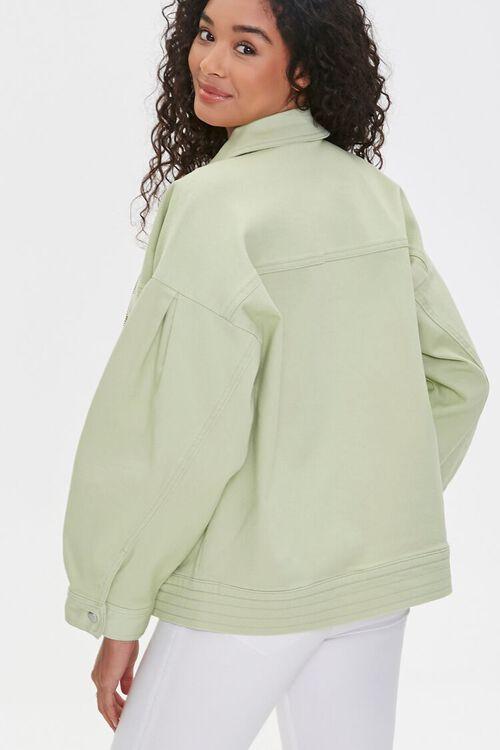 Zip-Up Drop-Sleeve Jacket, image 3