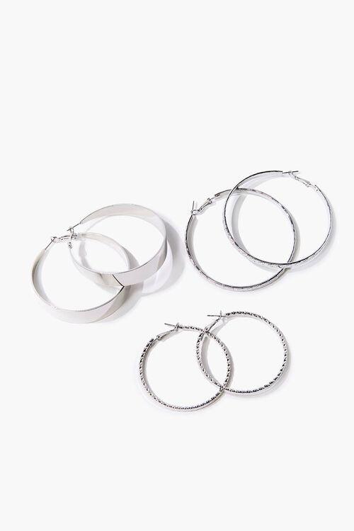 Twisted Hoop Earring Set, image 1