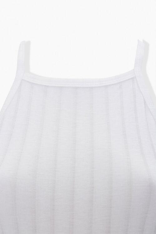 Ribbed Crisscross-Back Bodysuit, image 4