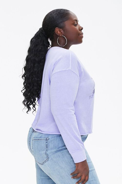 Plus Size Angel Graphic Top, image 2