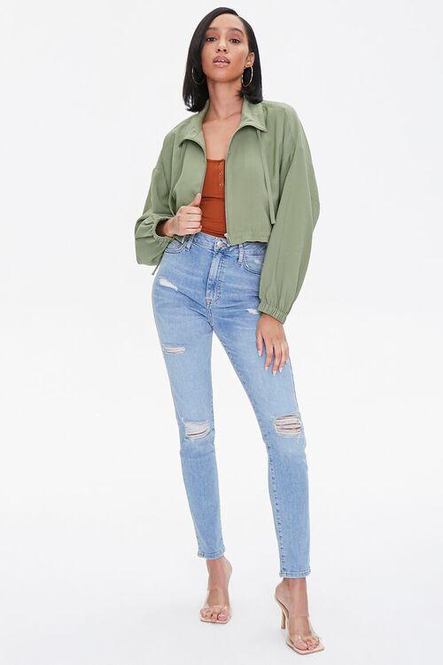 Zippered Drawstring Jacket, image 4