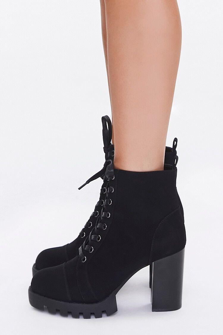 Black Block Heel Boots | Forever 21