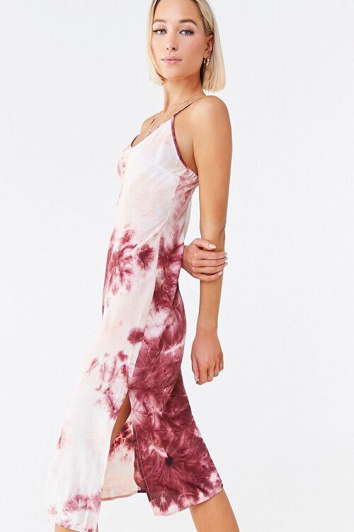 WINE/MULTI Tie-Dye Cami Dress, image 2
