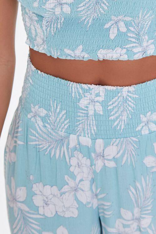 Tropical Floral Print Pants, image 5