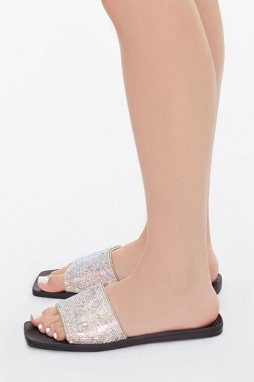 Rhinestone Flat Sandals, image 2