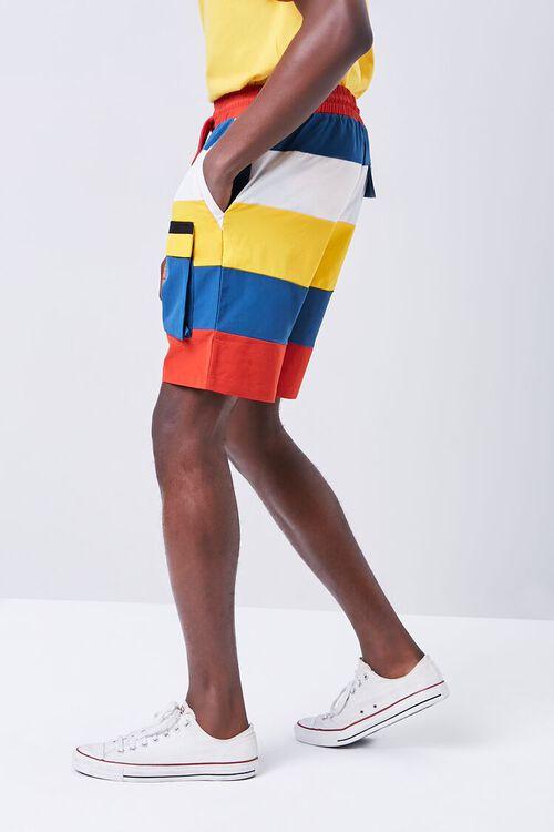 Colorblock Drawstring Shorts, image 3