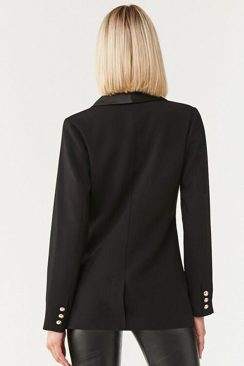 Double-Breasted Buttoned Blazer, image 3