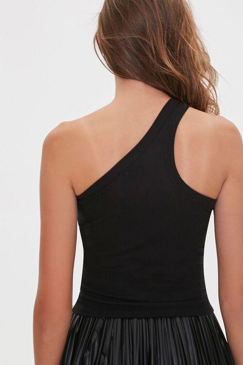 BLACK One-Shoulder Top, image 4