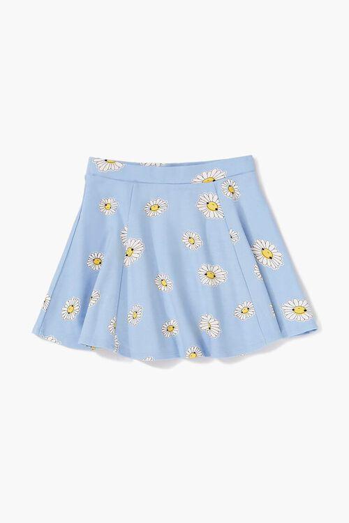 Girls Daisy Print Skirt (Kids), image 1