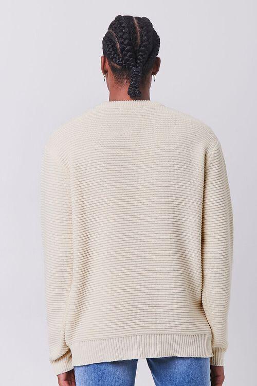 CREAM Ribbed Crew Neck Sweater, image 3